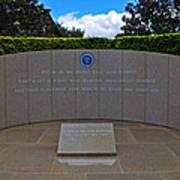 Ronald Reagan Memorial Poster