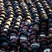 Roof Tiles 2 Poster