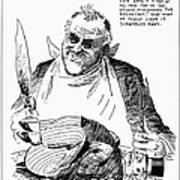 Roosevelt Cartoon, 1938 Poster