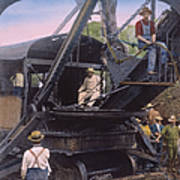 Roosevelt: Panama Canal Poster