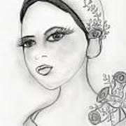 Rose Flapper Poster