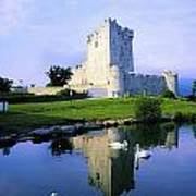 Ross Castle, Lough Leane, Killarney Poster