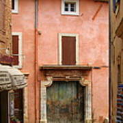 Roussillon Painted Door Poster