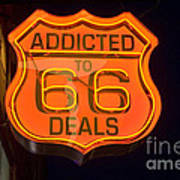Route 66 Addicted Poster