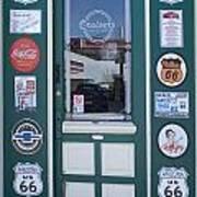 Route 66 Doorway Poster