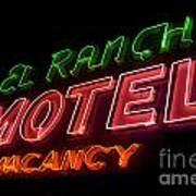 Route 66 El Rancho Poster