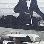 Route 66 Marlon Brando Mural Poster