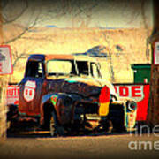 Route 66 Parking Lot Poster