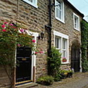 Row Of Cottages. Poster