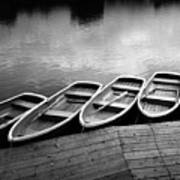 Rowing Boats Poster