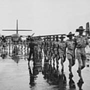 Royal Australian Air Force Arrives Poster