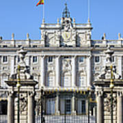 Royal Palace In Madrid Poster