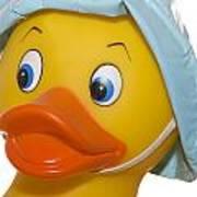 Rubber Ducky Closeup Poster