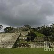 Ruins At Altun Ha Belize Poster
