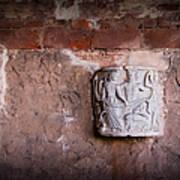 Ruins In Pisa Poster