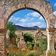 Ruins Of Mineral De Pozos Poster