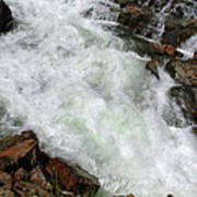 Rushing Waters Glen Alpine Creek Poster