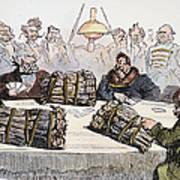 Russian Cartoon, 1854 Poster