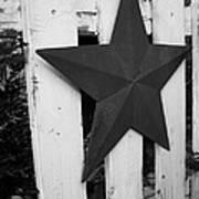 Rustic Star Poster
