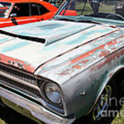 Rusty 1965 Plymouth Satellite . 5d16631 Poster by Wingsdomain Art and Photography