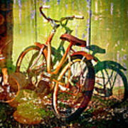 Rusty Bikes Poster