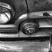 Rusty Cadillac Detail Poster