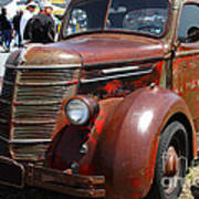 Rusty Old 1935 International Truck . 7d15497 Poster by Wingsdomain Art and Photography