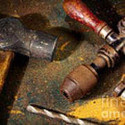 Rusty Tools Poster
