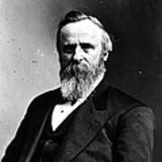 Rutherford B. Hayes, 19th American Poster by Photo Researchers