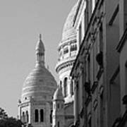 Sacre Coeur View Poster