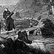 Sadler: Fishing, 1875 Poster