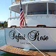 Safari Rose Lake Tahoe Poster