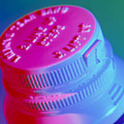 Safety Cap On A Medicine Bottle Poster by Steve Horrell