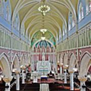Saint Bridgets Gothic Church Poster