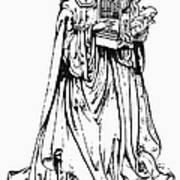 Saint Cecilia Poster by Granger