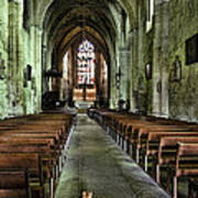 Saint Emilion Church Poster