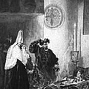 Saint Francis Borgia (1510-1572) Poster