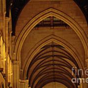 Saint Marys Church Interior 2 Poster