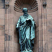 Saint Peter Statue - Historic Philadelphia Basilica Poster