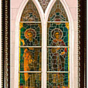 Saints In The Window Poster