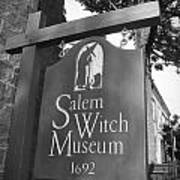 Salem Witch Museum Poster