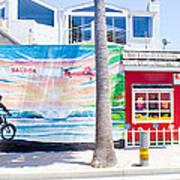 Salt Water Taffy Panorama Balboa California Poster