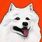 Samoyed Poster by Leanne Wilkes