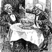 Samuel Clemens Cartoon Poster