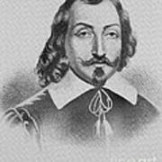 Samuel De Champlain Poster by Photo Researchers