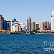 San Diego Skyline Buildings Poster