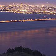 San Francisco Dusk Poster