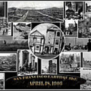 San Francisco Earthquake Poster