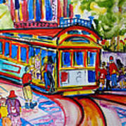 San Francisco Trolley Poster