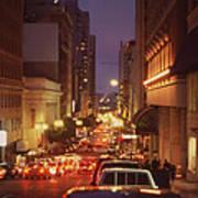 San Francisico Street Poster by Thomas Luca